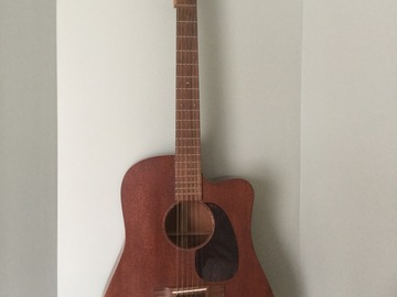 Renting out: Martin D-15 with k&k pickup