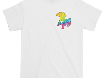 Selling: Rainbow Dachshund T-Shirt