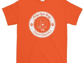 Selling: Peace Love Dogs - T-shirt