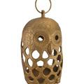 Buy Now: Golden Filigree Owl Cast Aluminum Decorative Candle Lantern