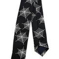 Buy Now: Spiderweb Print Skinny Tie Necktie Tie Spider Web Lot of 26