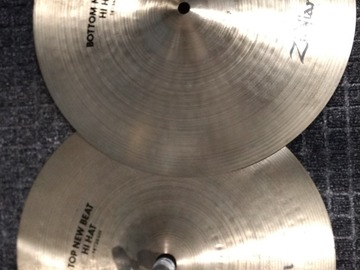 """Selling with online payment: Zildjian 14"""" New Beats"""