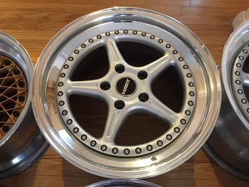 Selling: Hart 759 3 Piece Corvette Wheels