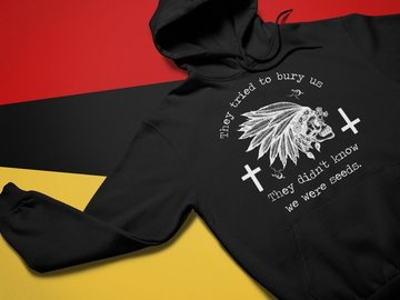 Selling: They tried to bury us hoodie. Original design. Small to 5X