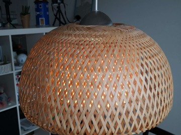 Selling: Bamboo ceiling light (IKEA)