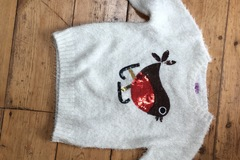 Selling with online payment: Robin jumper, girls, age 4-5 Yrs