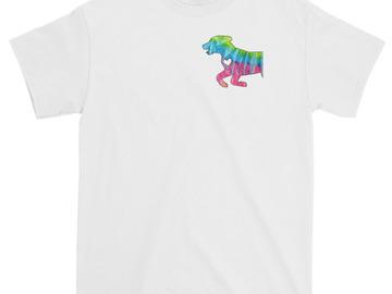 Selling: Labrador Tie-Dye silhouette T-shirt