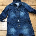 Selling with online payment: Denim play suit, age 4 Yrs