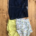 Selling with online payment: Girls short / skirt bundle, age 5 Yrs
