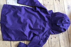 Selling with online payment: Purple Coat, age 5-6 Yrs