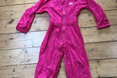 Selling with online payment: Pink waterproof suit, age 5-6 Yrs