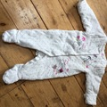 Selling with online payment: Padded suit, age 3-6 Mths