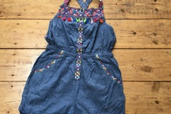 Selling with online payment: Monsoon playsuit, age 7-8 Yrs