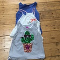 Selling with online payment: Vest top bundle, age 8-10 Yrs