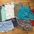 Selling with online payment: Shorts and T's bundle age 9-10