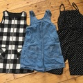 Selling with online payment: Playsuits and dress age 6-7