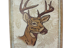 Buy Now: 8 Point Buck Wall Hanging Plaque Lot of 16