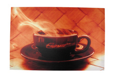 Buy Now: Rich `Espresso` Stretched Nylon Printed Artwork Lot of 16