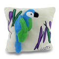 Buy Now: I Love Parrots Ivory Tropical Parrot Throw Pillow