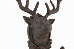 Buy Now: Cast Iron Deer Wall Mounted Coat Hooks
