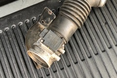 Selling with online payment: 87-93 foxbody mass air flow with intake pipe