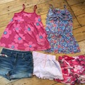 Selling with online payment: Summer bundle girls age 5-6