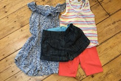 Selling with online payment: Girls summer bundle age 6-7