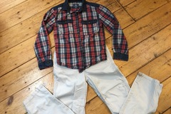 Selling with online payment: Shirt and trousers age 7-8