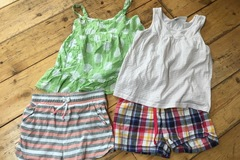Selling with online payment: Girls shorts and T's age 3-4