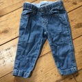 Selling with online payment: Benetton baby jeans, age 6-9 Mths