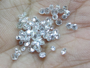 Buy Now: 18 Natural Diamonds lot excellent cut near colorless