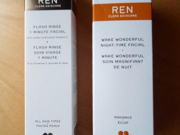 Venta: Mascarilla 1 minuto vitamina C Ren ( regalo renovador noche)