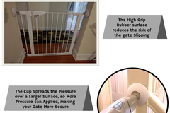 Buy Now: 25 Sets Wall Protectors For Baby Gates(4 pack)