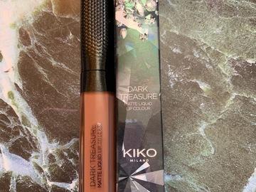 Venta: Kiko E.L. Dark treasure matte liquid lip colour 01