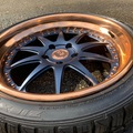 Selling: Custom AG 3 piece forged wheels with Falken tires