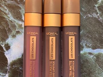 Venta: L'oreal paris ultra matte liquid lipstick les chocolats