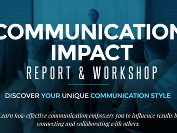 Coaching Session: Communication Impact Report and Coaching
