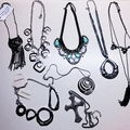 Liquidation Lot: 50 pieces Statement Necklaces -High Quality