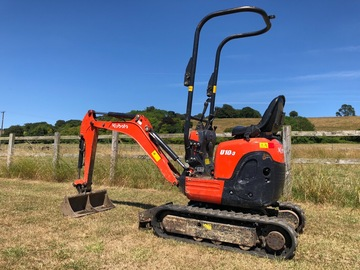 Daily Equipment Rental: Kubota U10 Micro digger