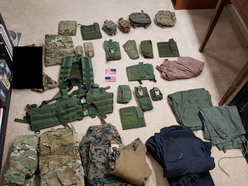 Selling: WTS: Eagle, TAG, LBT pouches. TRU-Spec, UR-Tactical uniforms