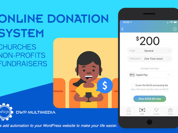 Offering with online payment: Online Donation System
