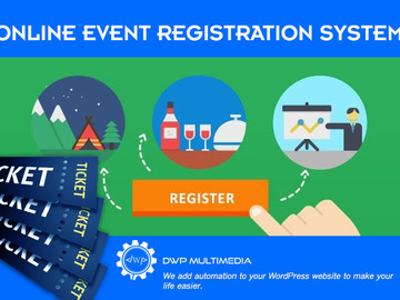 Offering with online payment: Online Event Registration System
