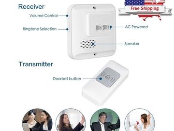 Buy Now: Lot of 20:  Wireless DoorBell 1000ft Long Range Door Chime