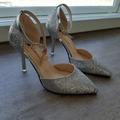 Ilmoitus: 35 käyttämättömät hopeat kengät