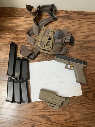 RA Tech FUll STEEL G18c (With Glock Marking) - Airsoft Smugglers