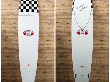 "For Rent: 9'2"" X 23 X 3 1/8 Donald Takayama ""In The Pink"" Surftech Longboar"