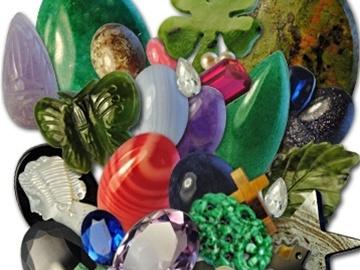 Buy Now: (1,000) Semi Precious & Genuine Stones & Pendants- Cost $0.34