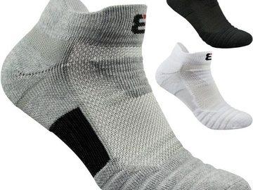 Vente avec paiement en ligne: 2 paires/lot hommes chaussettes éponge fond sport basket-ball