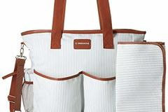 Buy Now: Premium Functional Tote / Diaper bag  - 108 Pcs