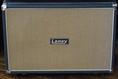 Renting out: Laney Lonheart LT212 60W 2x12 Guitar Extension Cabinet Blue Tolex